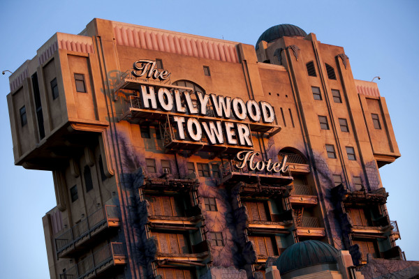 The Tower of Terror at Disneyland
