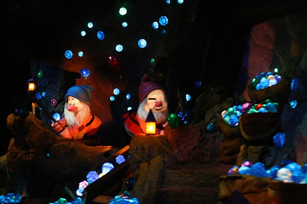 The Seven Dwarfs Mine Train at Disney World