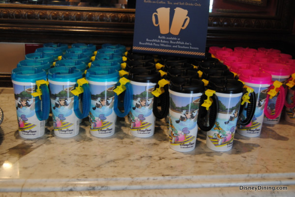 Disney refillable mugs