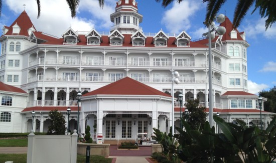 Grand Floridian, home of Gasparilla Island Grill