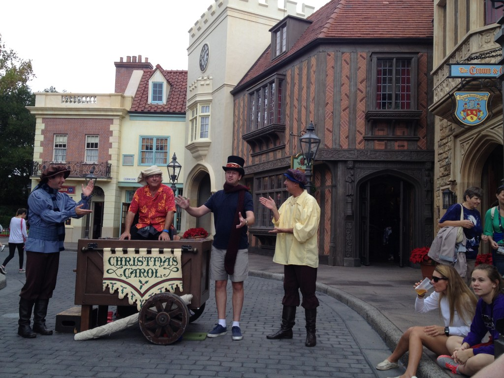 The World Showcase Players at Epcot