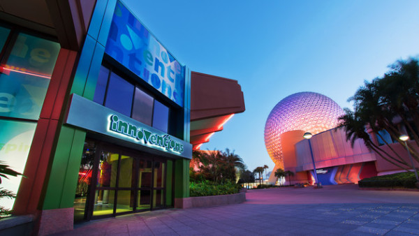 Ranking of Innoventions Exhibits at Epcot