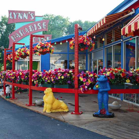 Lynn's Paradise Cafe in the highlands, Louisville, Kentucky