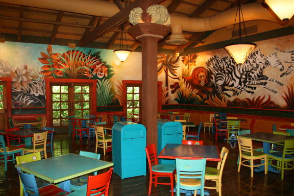Pizzafari at Animal Kingdom
