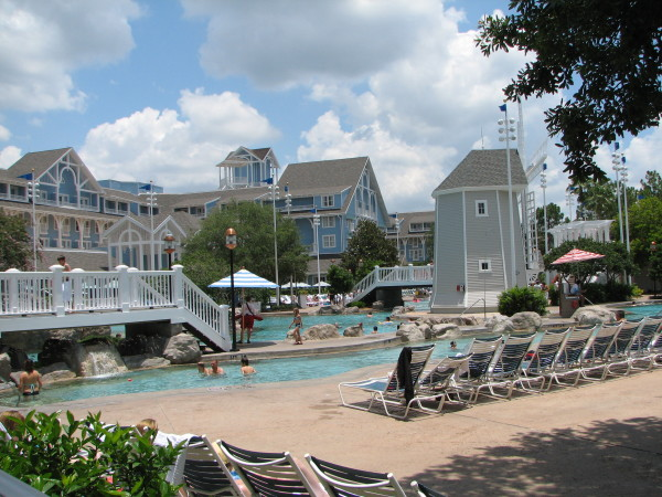 Steamrolling Bay is, in my opinion, the best pool that we have been to at Disney. it has plenty of seating and has great theming.