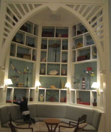 Reading nook at DVC Beach Club Villas