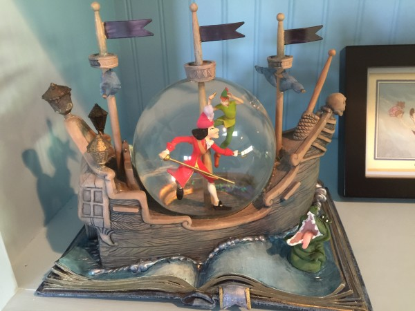 Peter Pan art statue