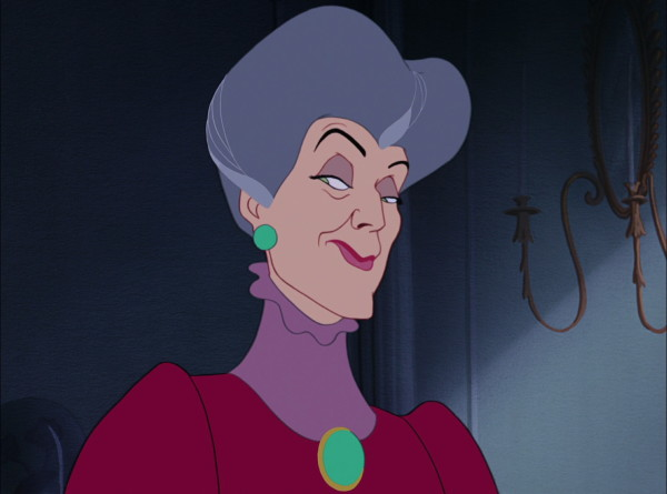Lady Tremaine, the wicked stepmother to Cinderella