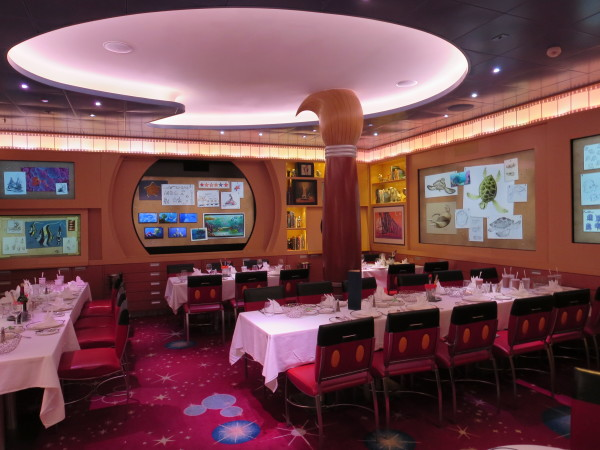 Animator's Palate on disney dream cruise ship