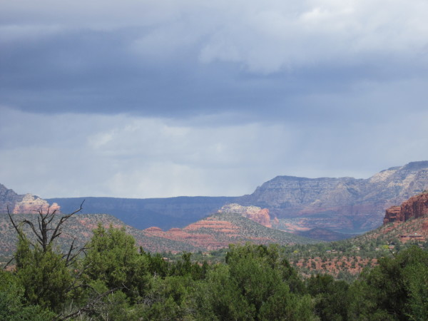 View from Sedona arizona