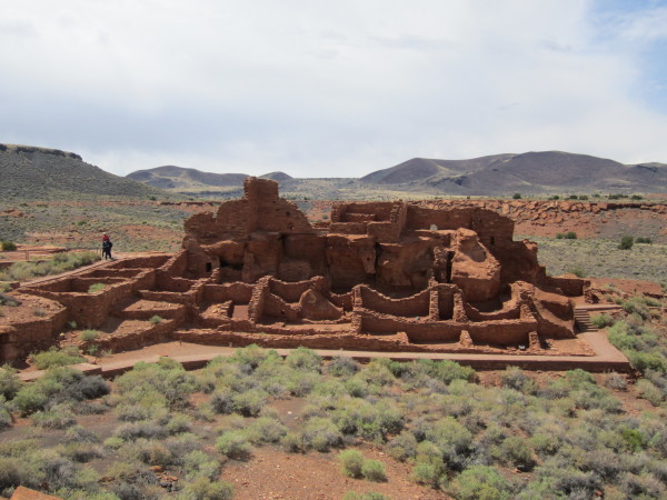 Wupatki ruins in arizona