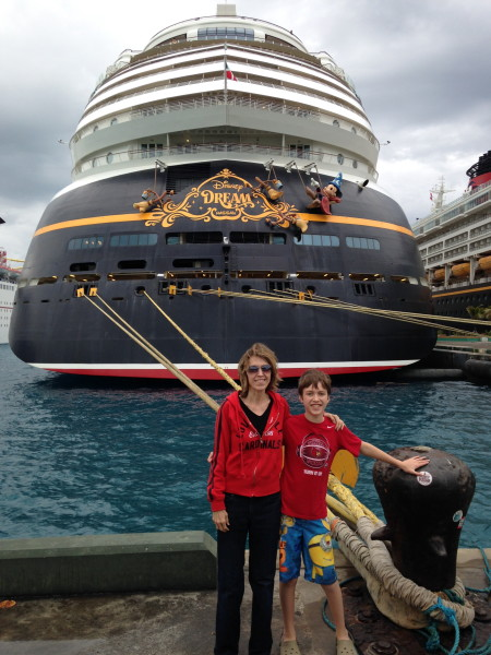 Hello from the Disney Dream!