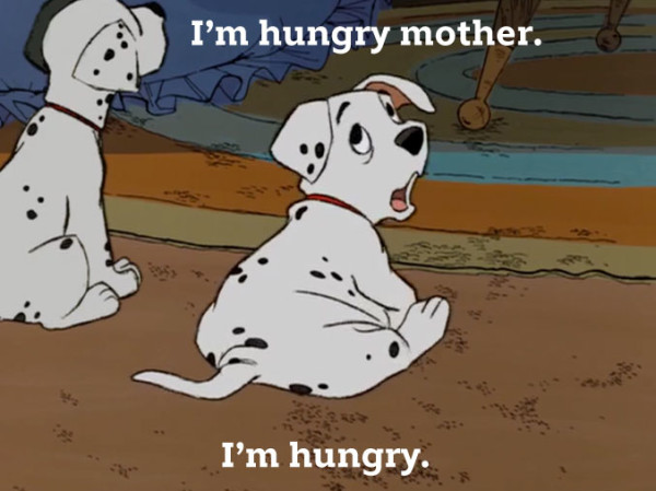 Roly and Patch from Disney's 101 Dalmatians