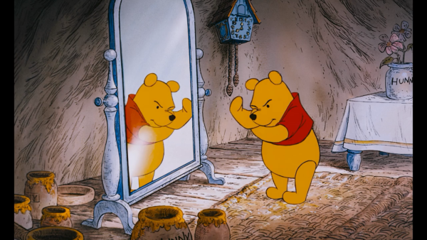 Winnie the Pooh of Disney fame.
