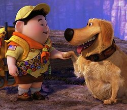Dug and Russell from Disney's UP