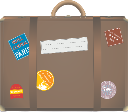 a suitcase is one of the things you need to pack wisely for an overseas trip