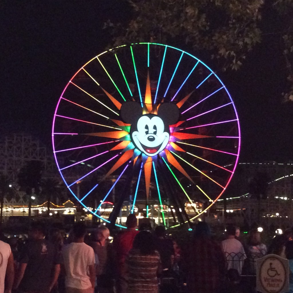 Disneylands California Adventure World of Color