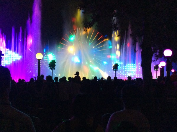 """Pretty Colors for Disneyland show"""
