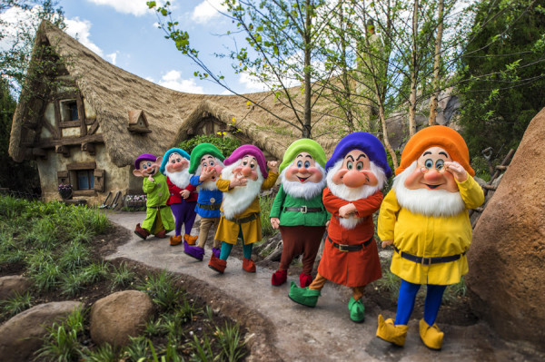 """Seven Dwarfs Mine Train, top 10 places at magic kingdom"""