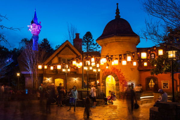 """The Tangled Restrooms, top 10 places at magic kingdom"""