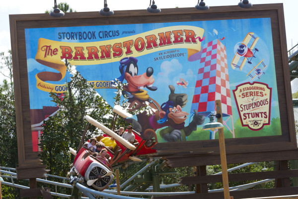 """Goofy's Barnstormer, top 10 places at magic kingdom """