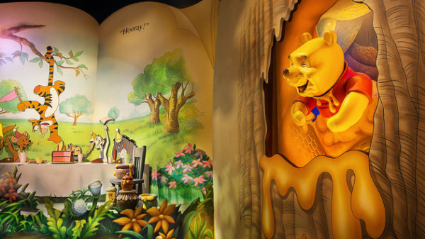 """Many adventures of winnie the pooh, top 10 places at magic kingdom """