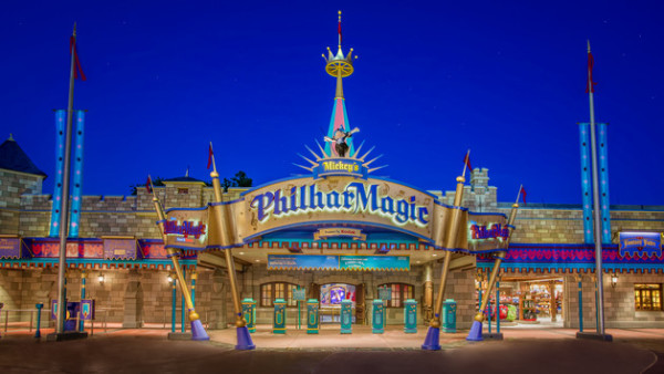 """Mickey's Philharmagic, top 10 places at magic kingdom"""