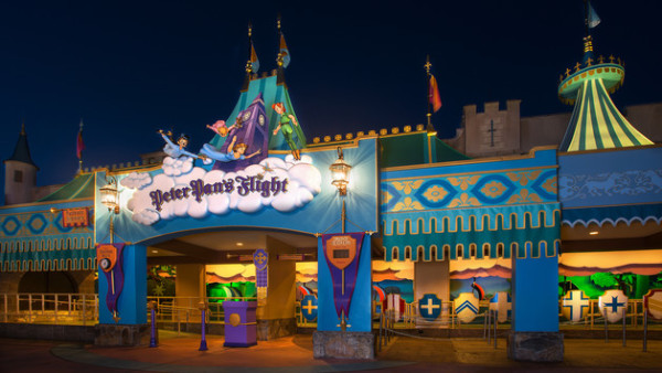"""Peter Pan's Flight, top 10 places at magic kingdom"""