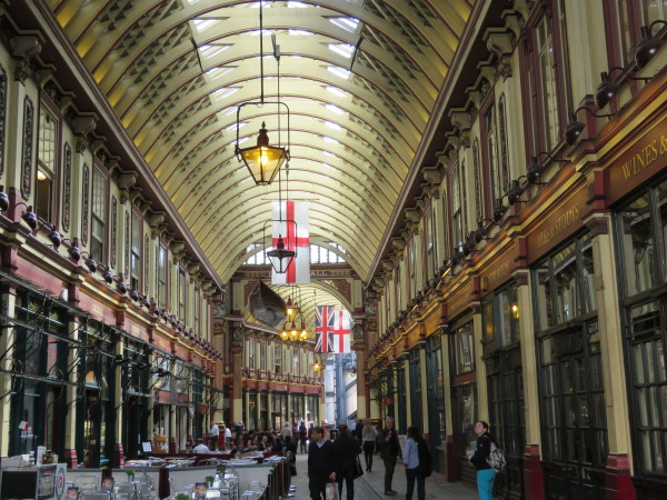 The entrance to Diagon Alley is Leadenworth in Central London