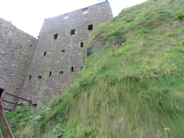 """Dunnottar Castle Wall"""