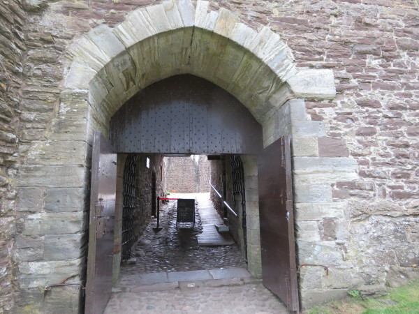 Doune Castle entrance.