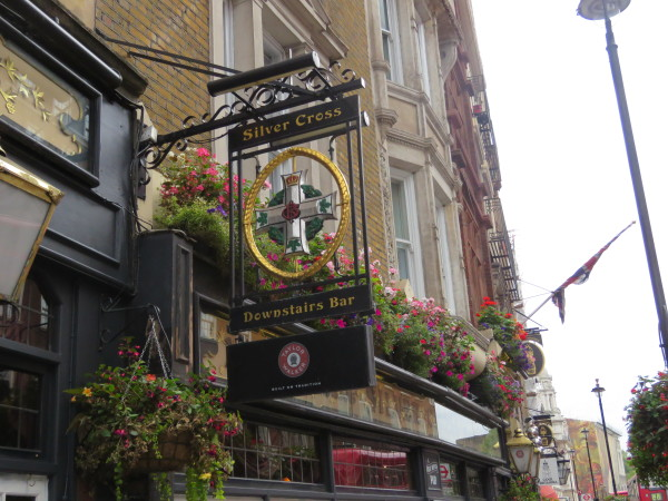 """London Pub Sign"""