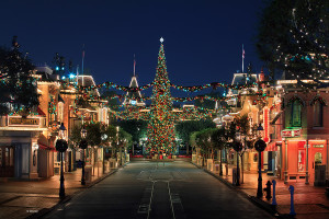 Main Street USA Disney World Christmas