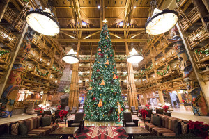 Wilderness Lodge Christmas