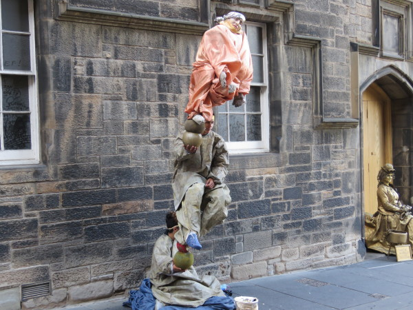"""Royal Mile Street Performers"""