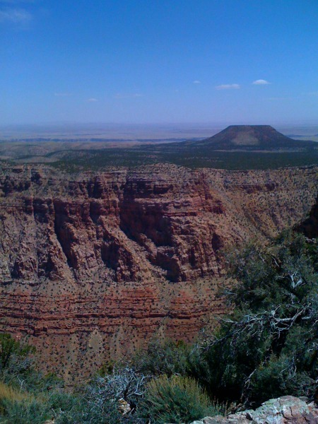 Grand Canyon view from eastern edge