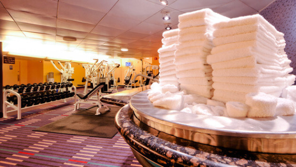 Fitness rooms at Disney World