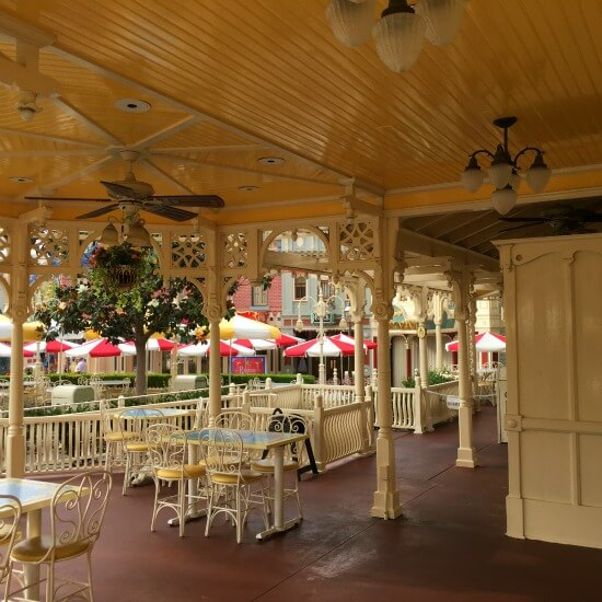 The Jolly Holiday Cafe at Disneyland