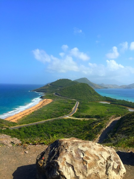 the island of st. kitts