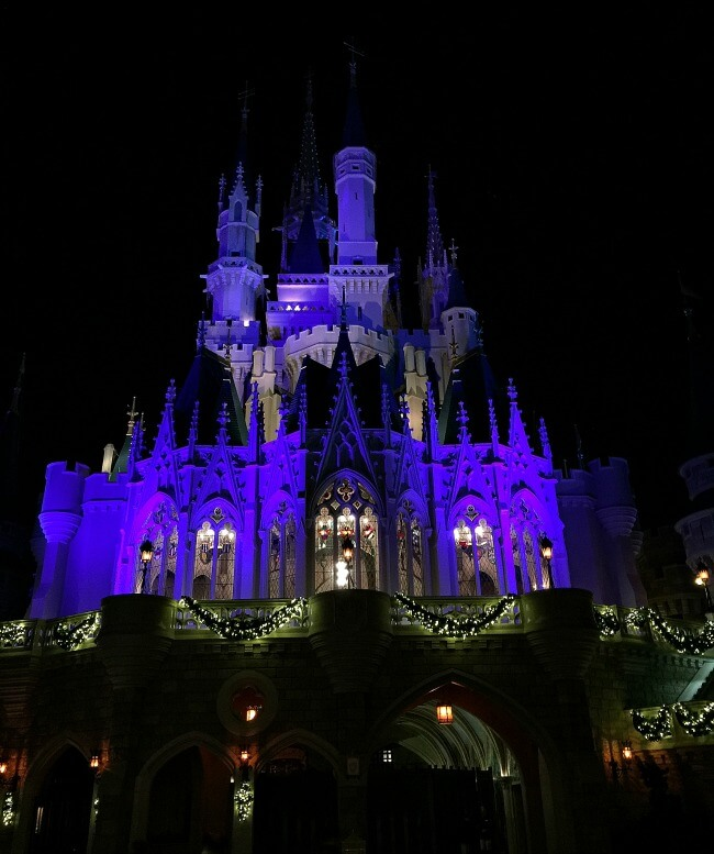 Many Faces of Disney World Cinderella Castle
