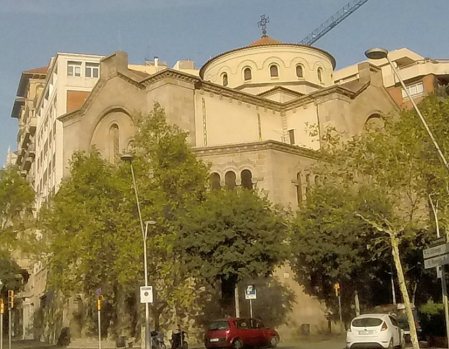 Church in Eixample