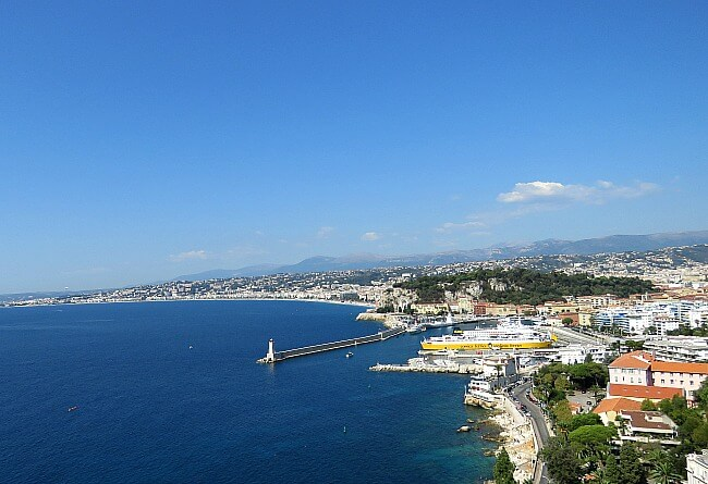 Scenic French Riviera