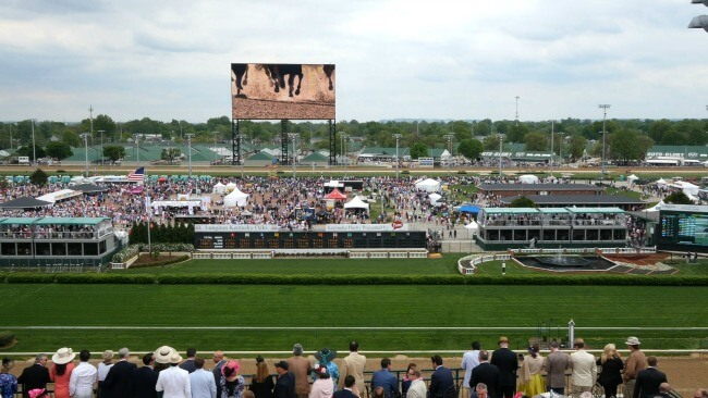 A Kentucky Derby Infield Story