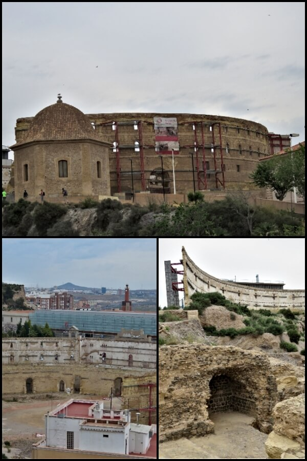 The Old Bull Ring in Cartagena, Spain #travel #Spain #Cartagena