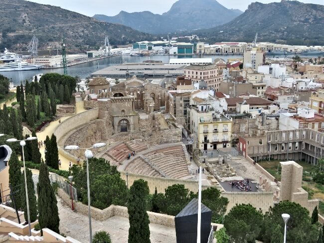 Roman Ruins and Marble Streets of Cartagena, Spain