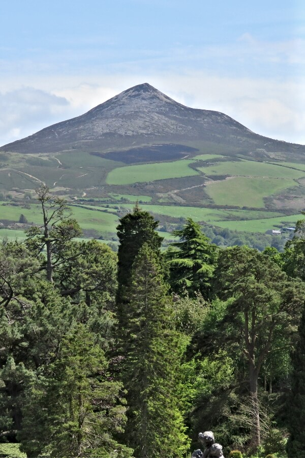 Sugarloaf Mountain in County Wicklow, Ireland. #travel #Ireland #Powerscourt #Wicklow #Sugarloaf #Dublin