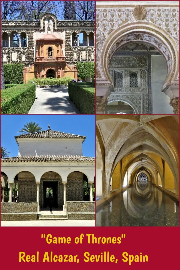 """Game of Thrones"" filming locations at Real Alcazar, Seville, Spain. #travel #Spain #Seville #RealAlcazar #GoT #GameofThrones #Dorne"