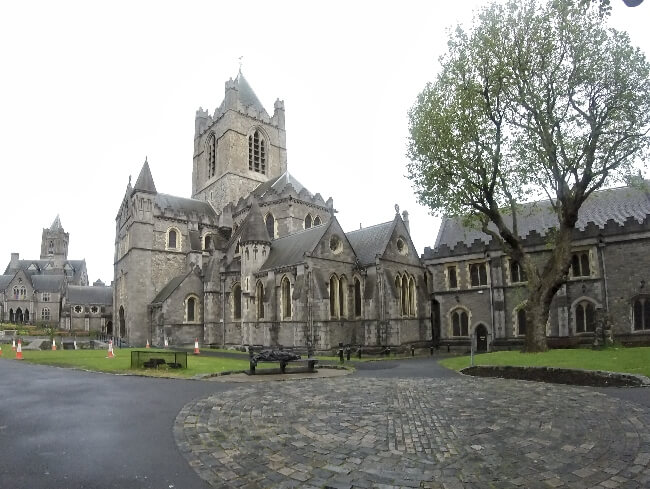 Christ Church Cathedral, Dublin, Ireland #travel #Dublin #Ireland #ChristChurch