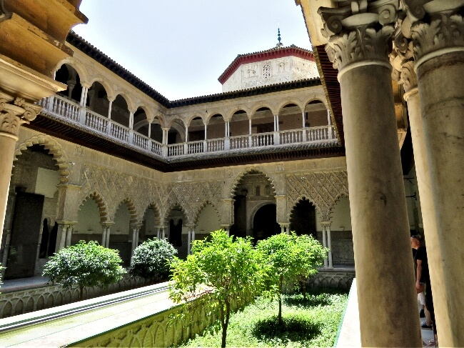 Real Alcazar, Seville, Spain #travel #Spain #Seville #Alcazar #RealAlcazar ##GOT #architecture