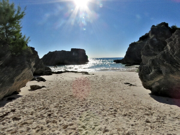 Horseshoe Bay beach in Bermuda #travel #Bermuda #beach #beaches #HorseshoeBay